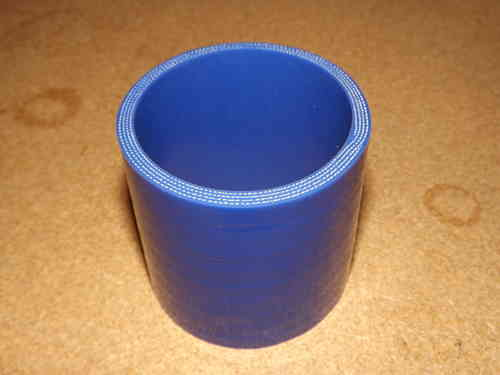 "2.75"" Blue silicone joiner  3"" long"