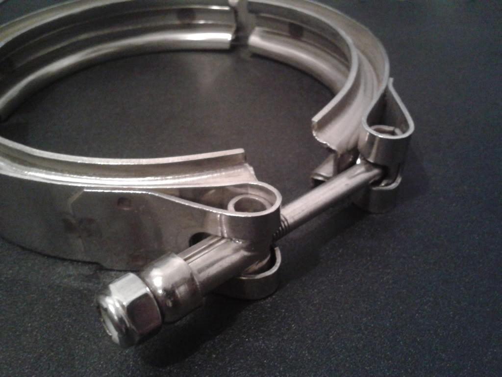 """V Band clamp kits full stainless 304 3.75"""" - RnD Motorsport"""