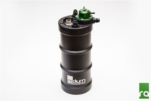 Radium Billet Aluminium CNC Fuel Surge Tank + Integrated FPR