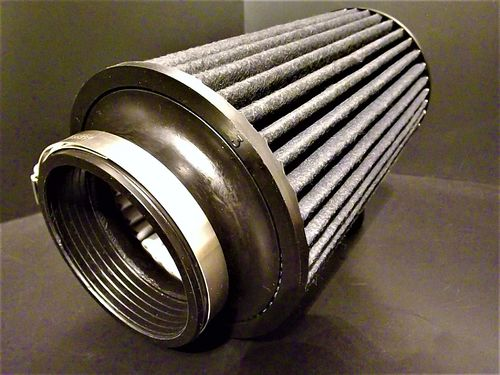 "AEM Brute Force Air filter 3"" fitment 8"" long"