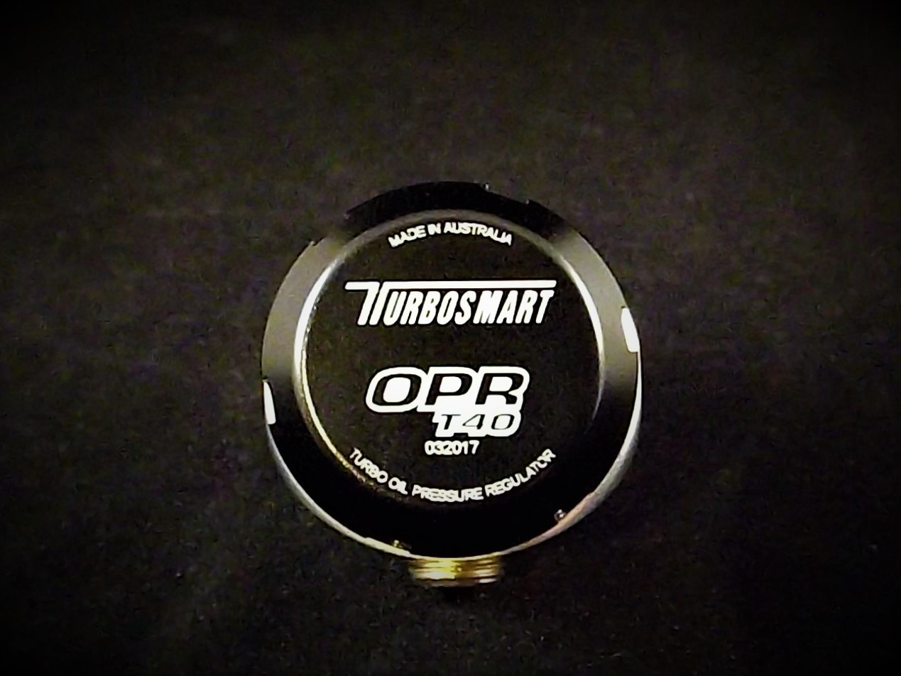 Turbosmart Oil Pressure Regulator – Black - NLA - RnD Motorsport