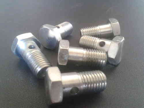 M12 x 1.25 Turbo banjo bolt with 2mm restriction