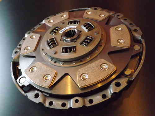 F23 Helix 6 Paddle Cerametallic Clutch + TTV Flywheel